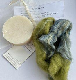 Sarah Elizabeth Fibre Works Sarah Elizabeth Felted Soap Kit