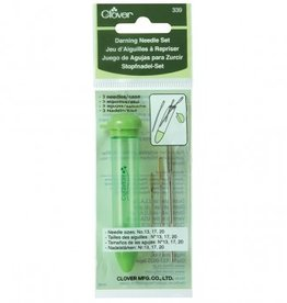 Clover Darning Needle Set: Reg/Green