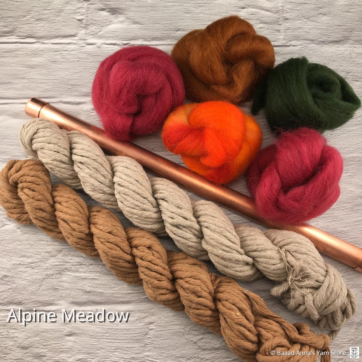 Sarah Elizabeth Fibre Works Sarah Elizabeth Alpine Macraweave Kit