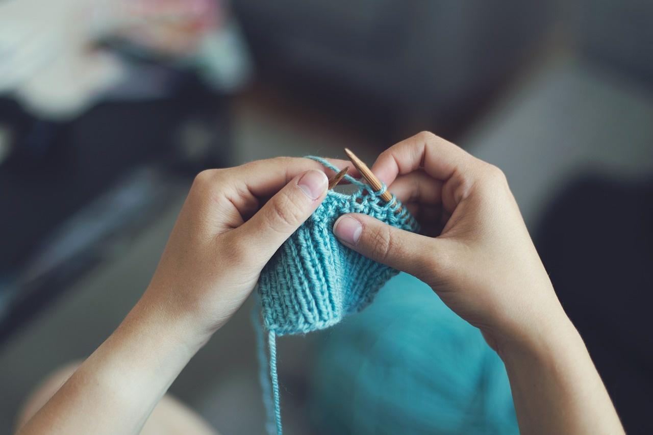 Beginner Knitting Class - Online via Zoom