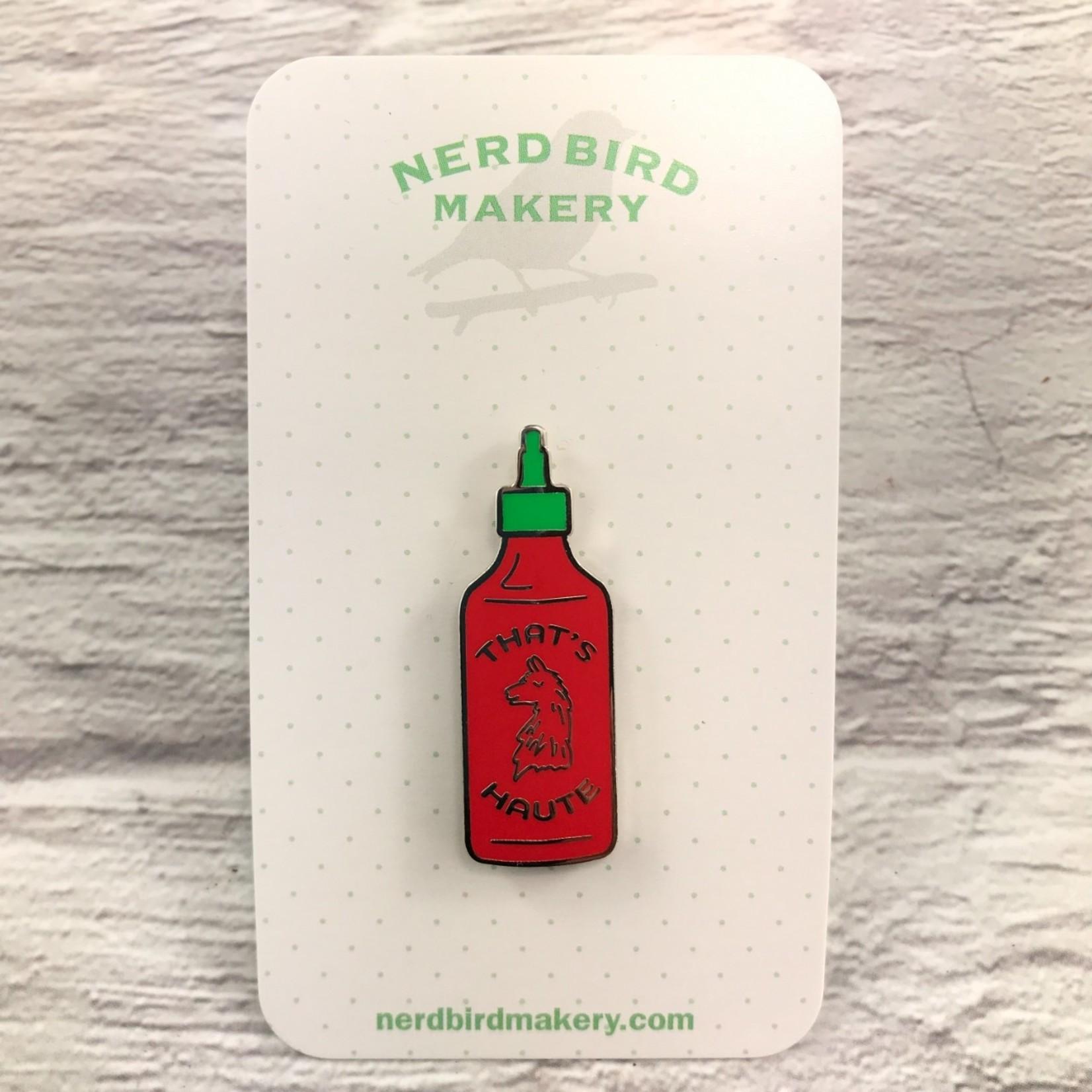 NerdBirdMakery Enamel Pin