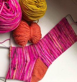 Socks for Beginners - ONLINE via Zoom June