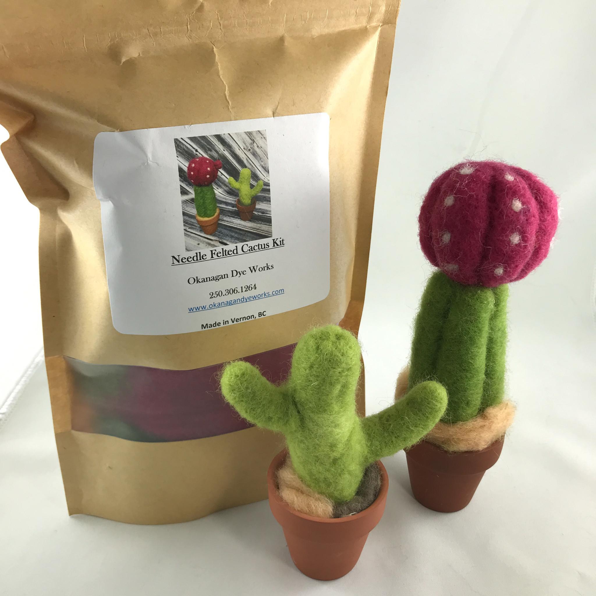 Okanagan Dye Works Okanagan Dye Works Cactus Felting Kit