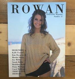 Rowan Knitting Magazine #27