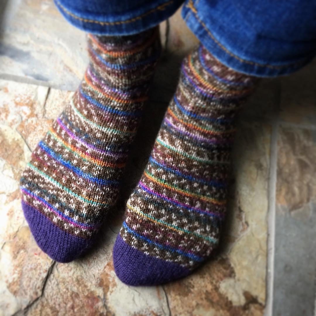 Socks for Beginners - ONLINE via Zoom