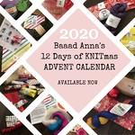Baaad Anna's 12 Days of Knitmas 2020