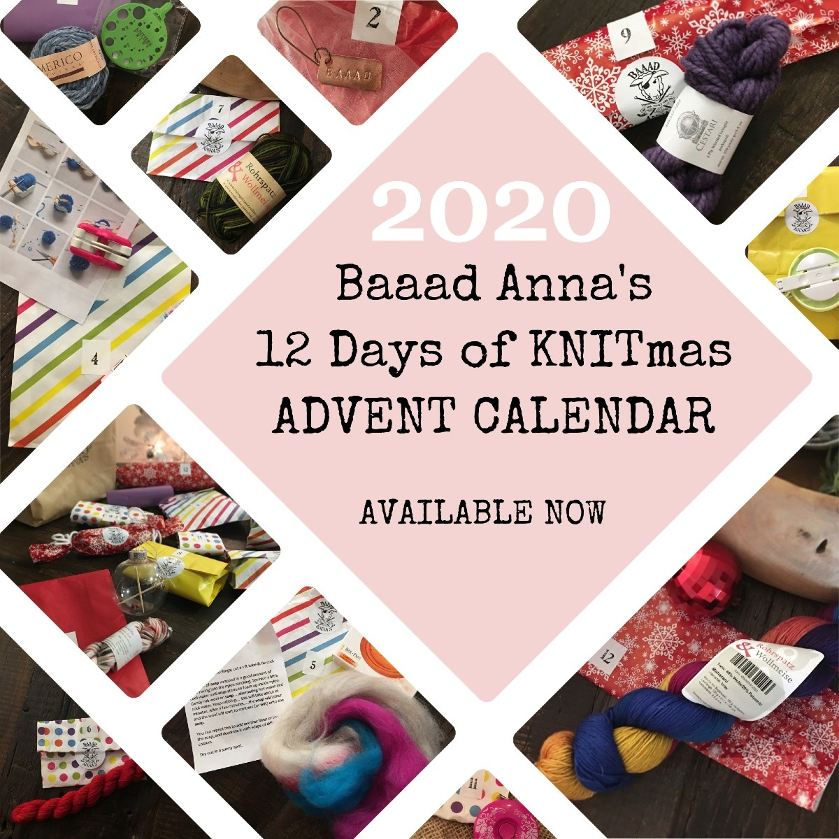 Baaad Anna's 12 Days of Knitmas 2020