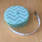 Sew Tasty Chevron Tape Measure