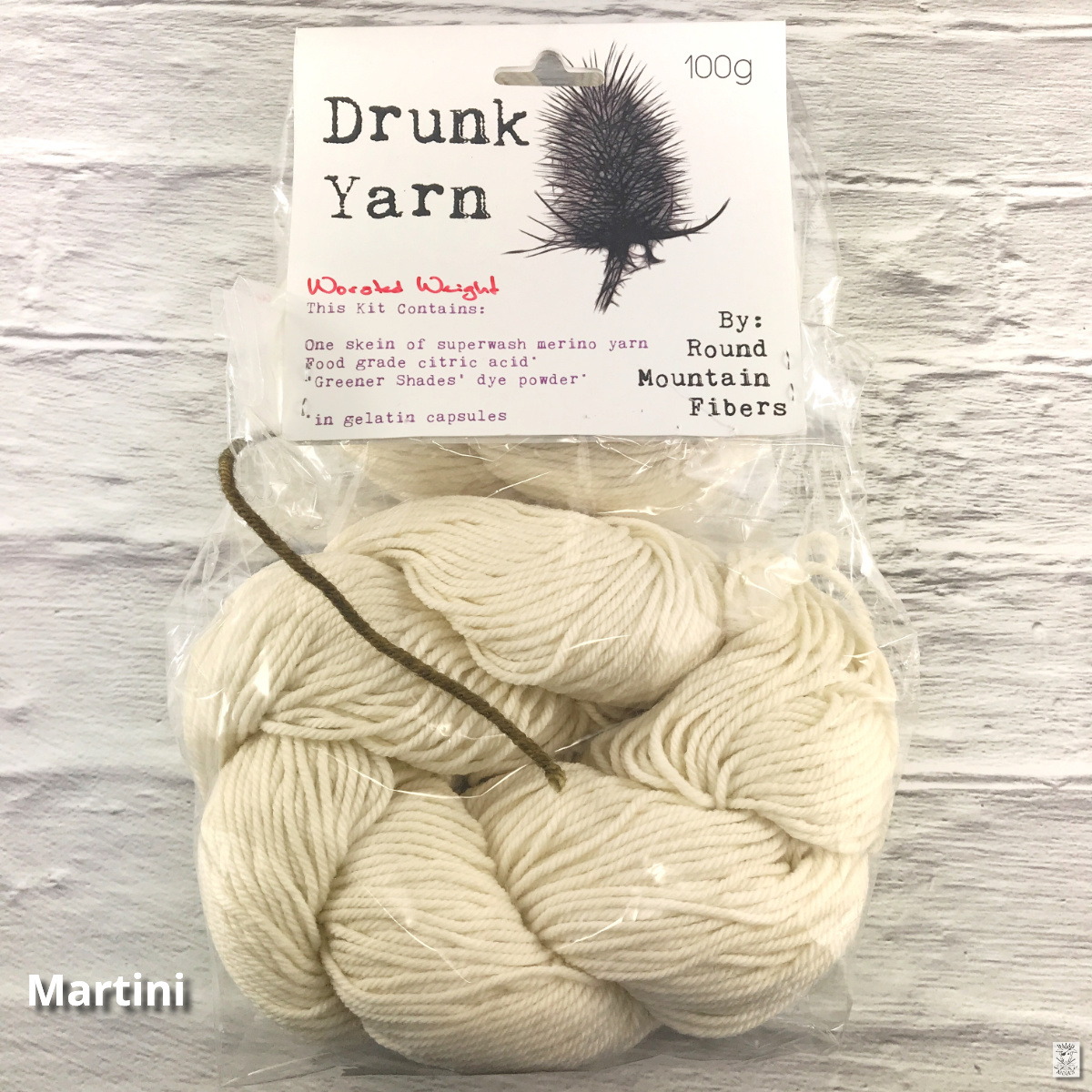 Drunk Yarns Worsted Dye Kit