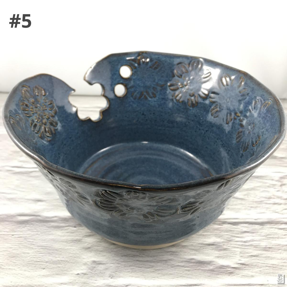 Lavender Lampworks Yarn Bowl