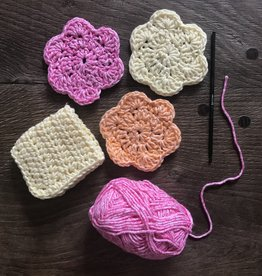 Beginner Crochet Scrubby Workshop - Online via Zoom
