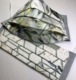 Deb's Bags Geometric Face Mask