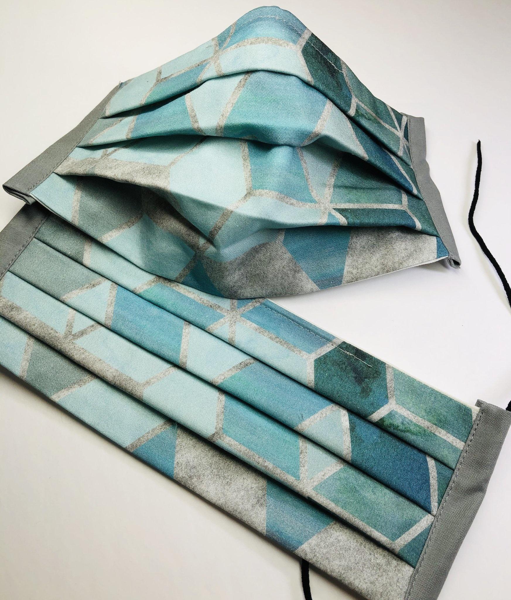 Deb Baldrey Deb's Bags Geometric Face Mask