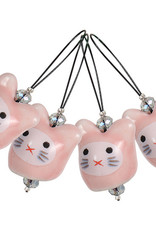 Knitter's Pride Knitter's Pride Playful Bead Stitch Marker Meow