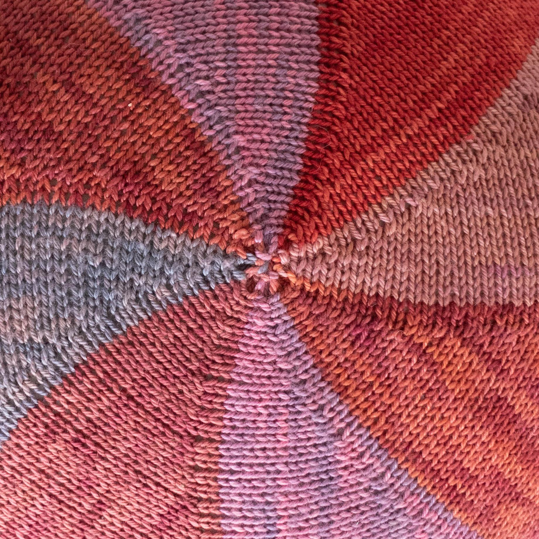 Beyond the Basics: Colourwheel Cushion - Online via Zoom