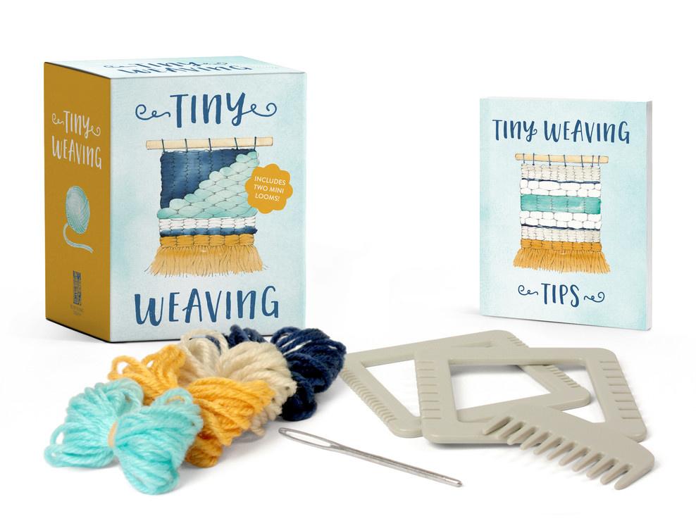 Running Press Tiny Weaving Crafting Kit