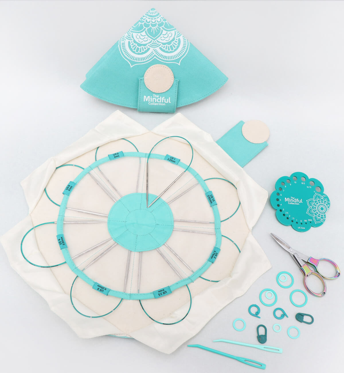 """Knitter's Pride Mindful Collection Explore Fixed 10"""" Circular Needle Set"""
