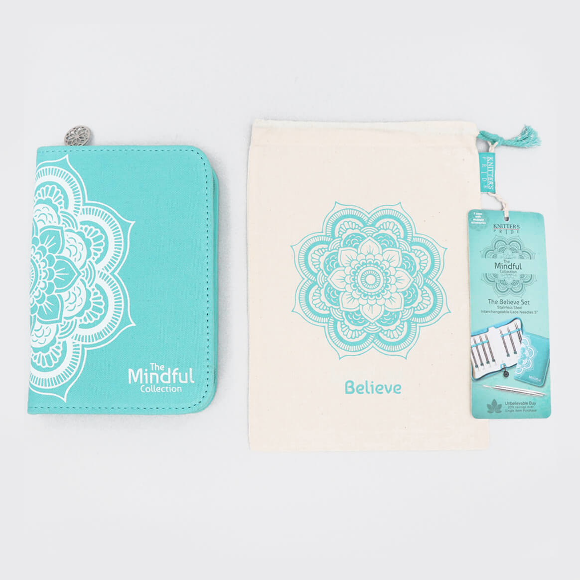 "Knitter's Pride Mindful Collection Believe IC 5"" Needle Set"