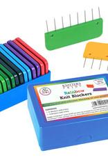 Knitter's Pride Knitter's Pride Knit Blockers (Rainbow)