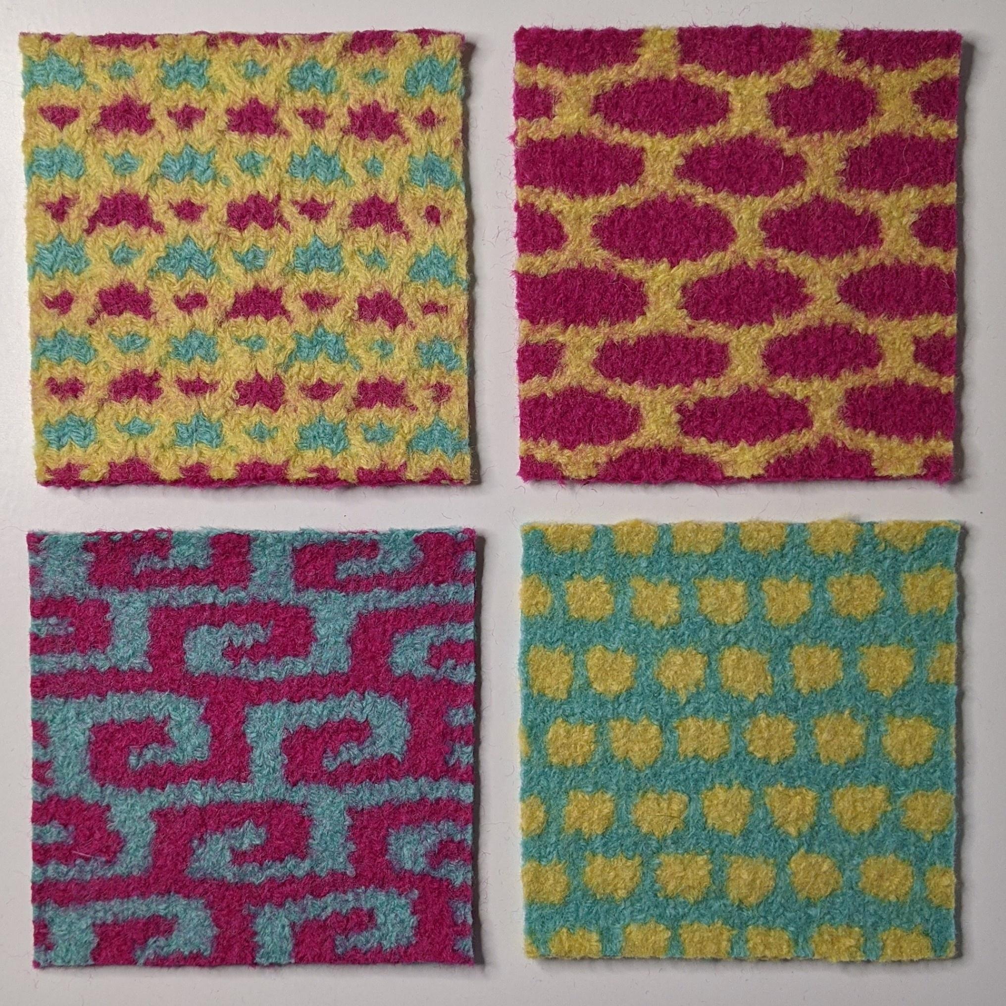 Beyond the Basics: Mosaic Knitting - Online via Zoom