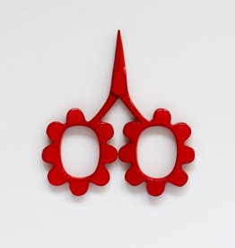 Traditional Stitches Flower Power Scissors