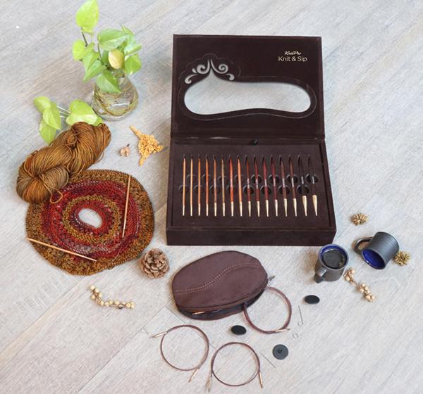 Knitter's Pride Knitter's Pride Knit & Sip Needle Set