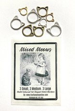 Firefly Notes Mixed Meows Stitch Markers