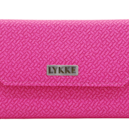 "Lykke Lykke 3.5"" IC Blush Basketweave Needle Set"