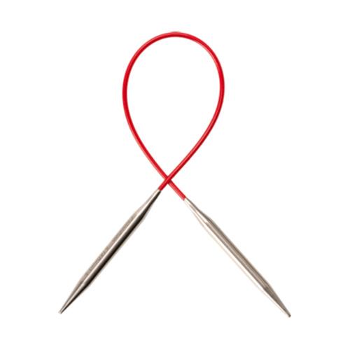 "ChiaoGoo ChiaoGoo SS Red Circular 23cm/9"""