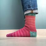 Tip Toe Up Sock Class - Online via Zoom
