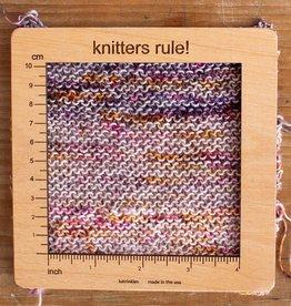 "Katrinkles Gauge Swatch Knitting 6"""