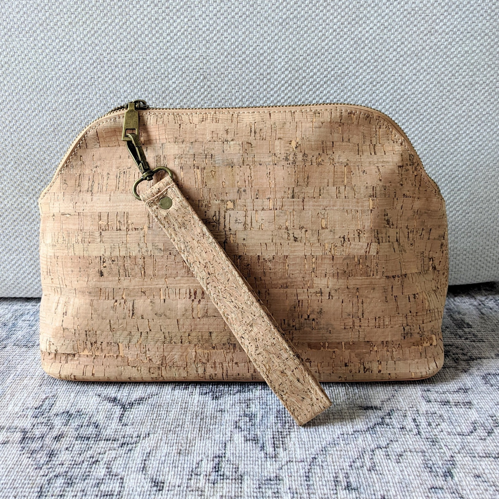 Thread & Maple Cork Project Bag w/strap