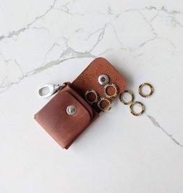 Thread & Maple Leather Stitch Marker Case