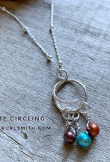 Purlsmith Circling Pendant Necklace