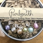 Purlsmith 6pk Easter Mix on Silver Hearts