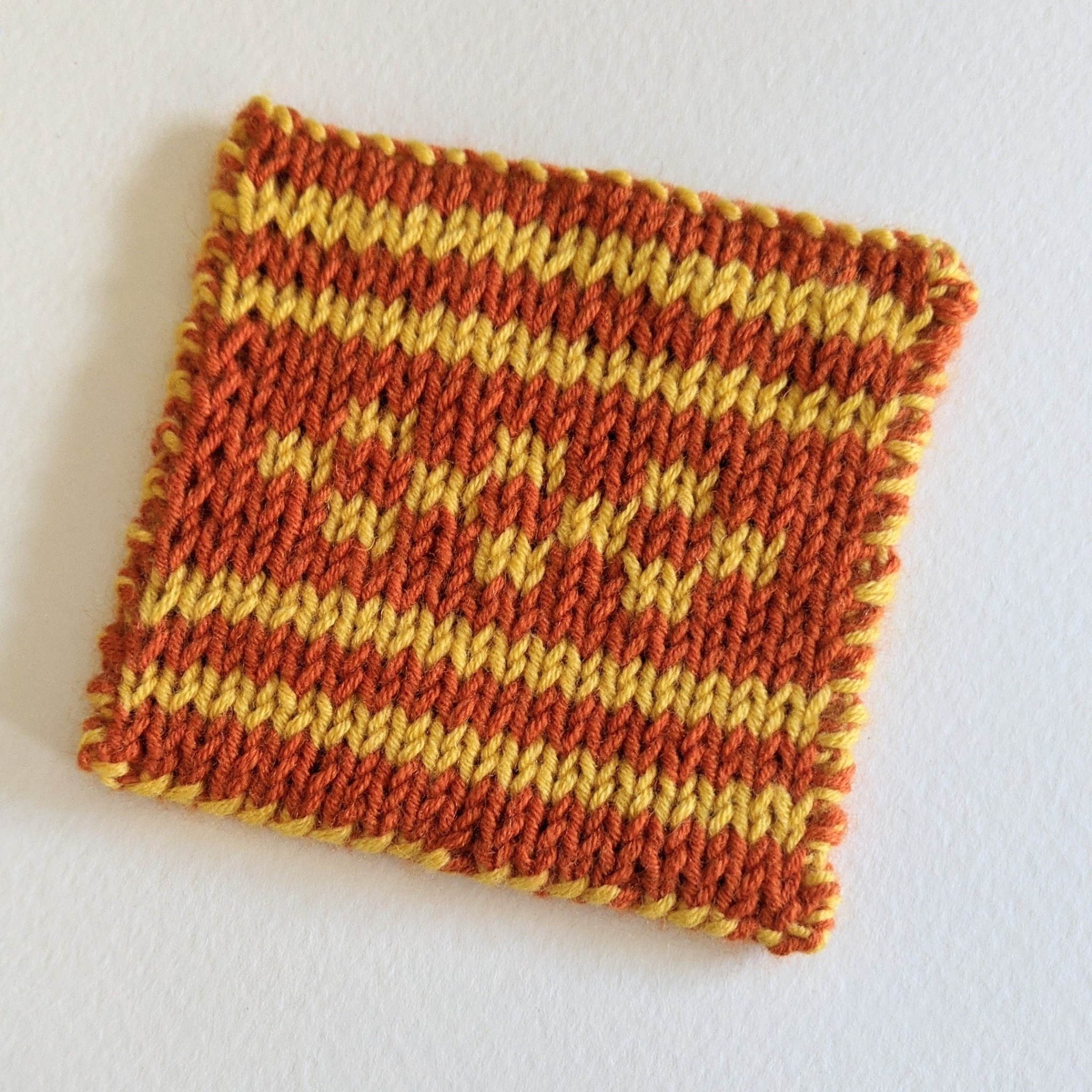 Intro to Double Knitting Workshop - Online via Zoom