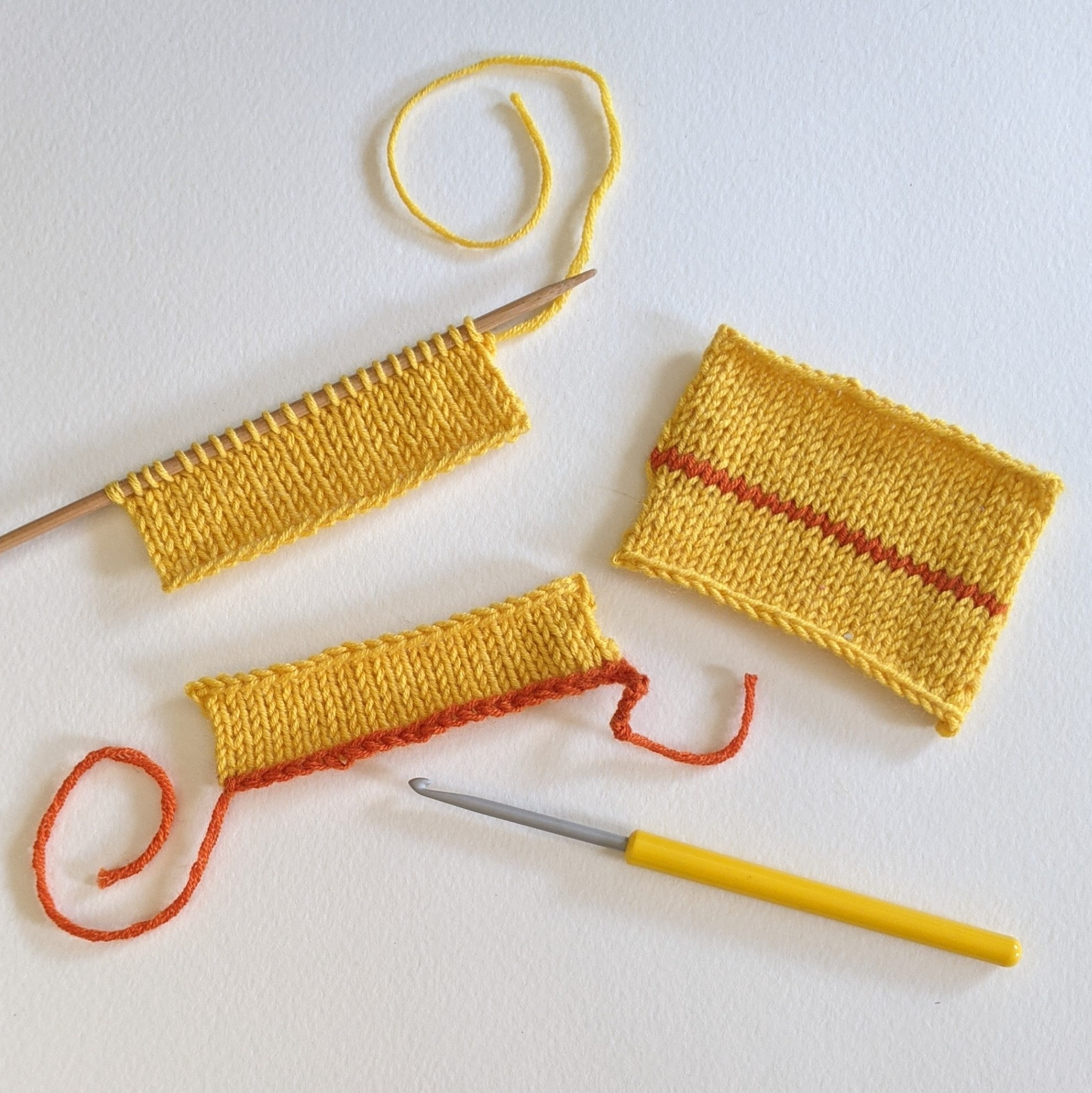 Summer Snacks! Kitchener Stitch and Provisional Cast On - Online via Zoom