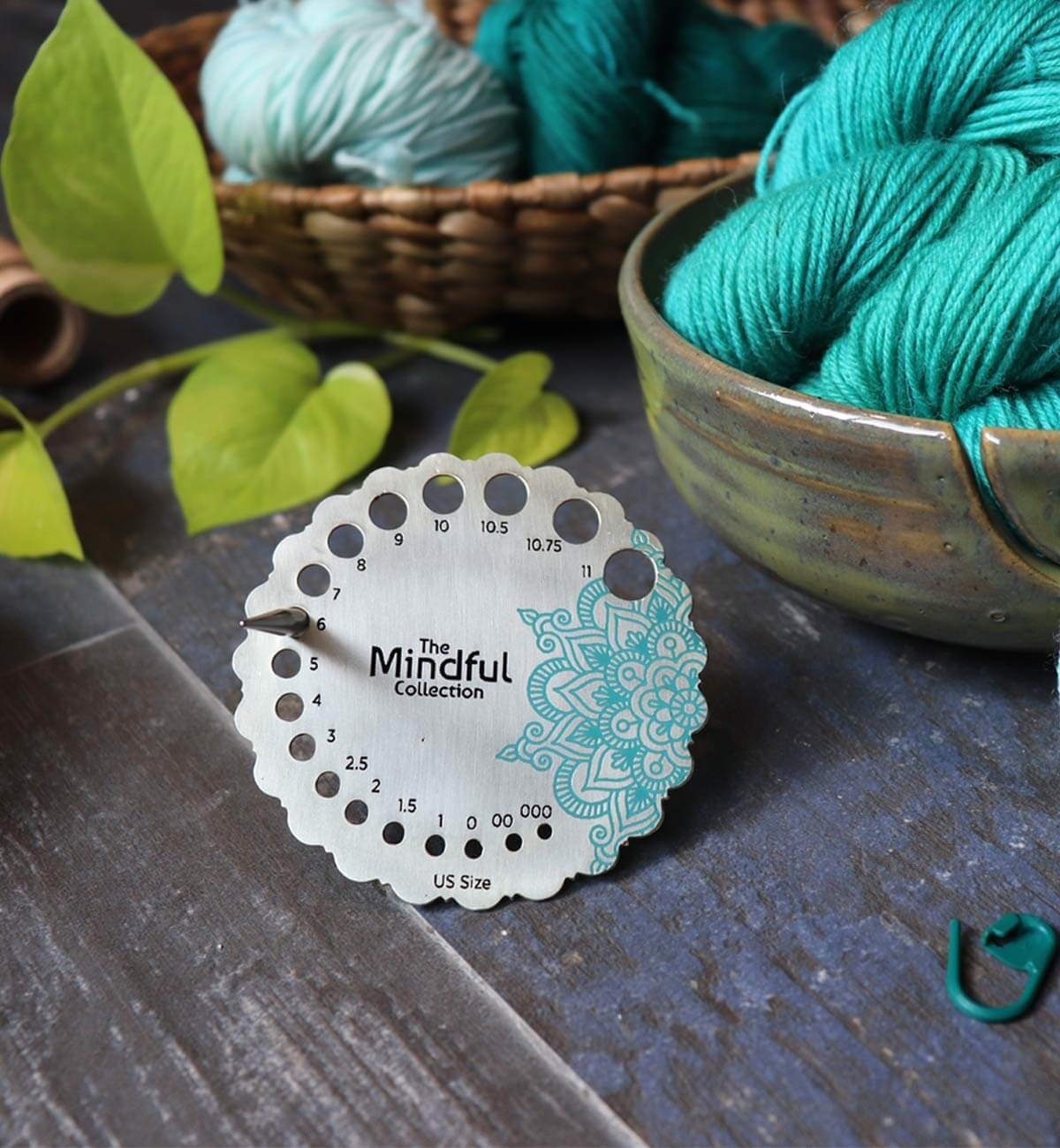 Knitter's Pride Mindful Collection Metal Needle Gauge