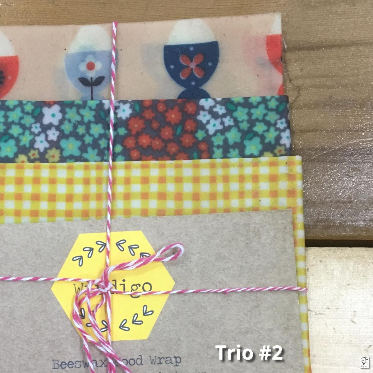 Windigo Beeswax Food Wrap Trio