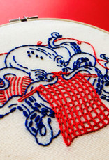 Hook, Line and Tinker Embroidery Kit