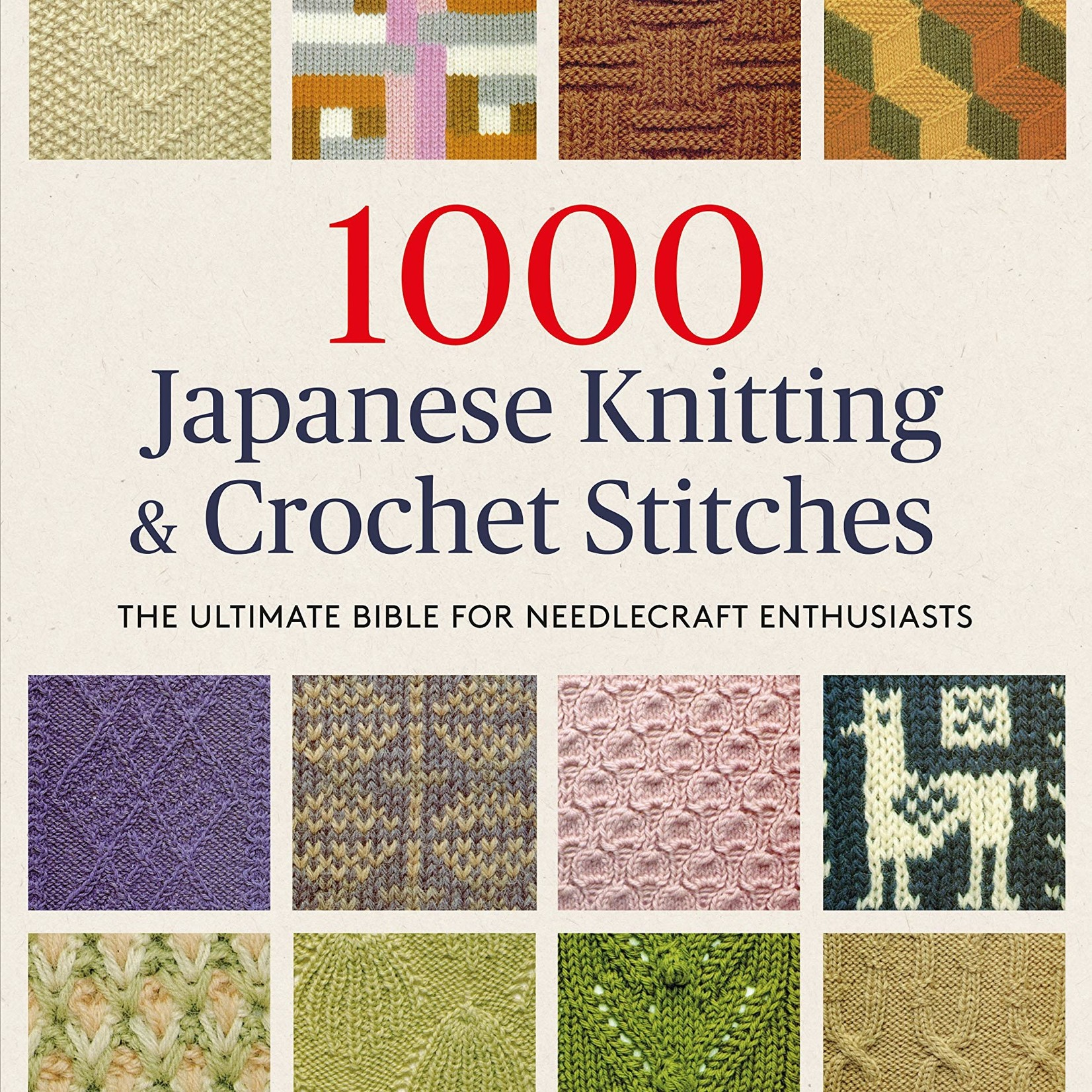 1000 Japanese Knitting and Crochet Stitches