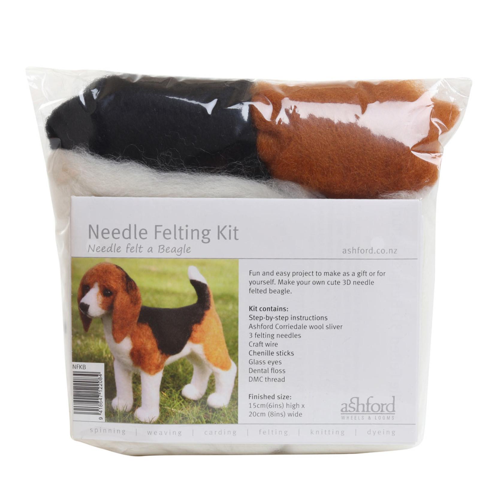 Needle Felting Kit - Beagle