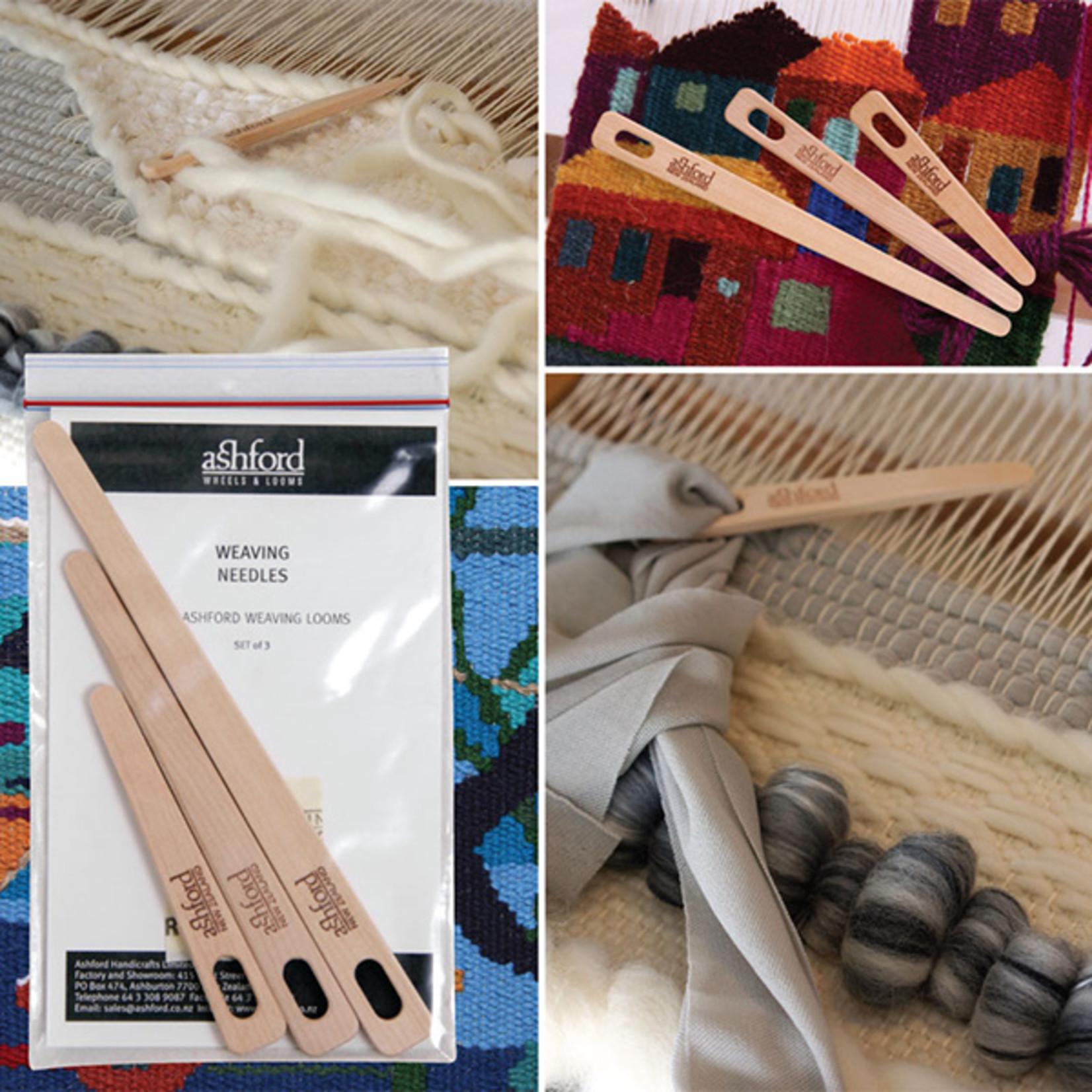 Ashford Weaving Needle 3pk