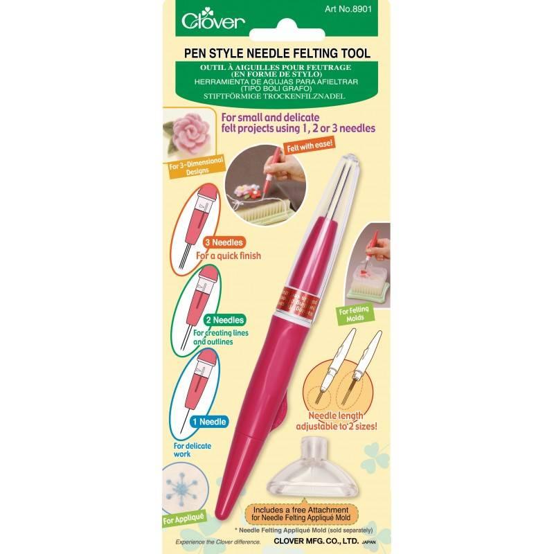 Clover Clover Felting Pen: 3 Needle