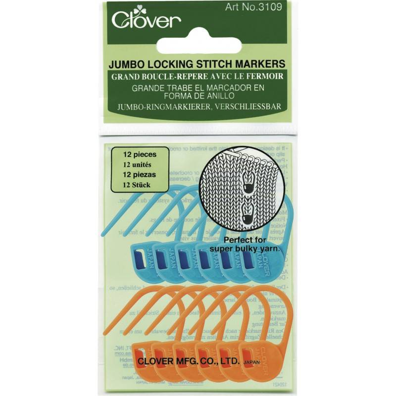 Clover Clover Locking Stitch Marker: Jumbo