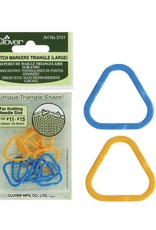 Clover Clover Stitch Marker : Large Triangle