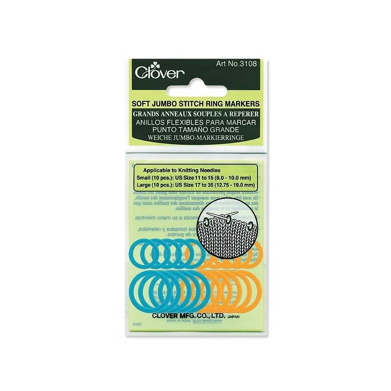Clover Clover Stitch Marker: Jumbo/Soft