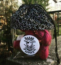 Baaad Anna's Logo Drawstring Project Bag