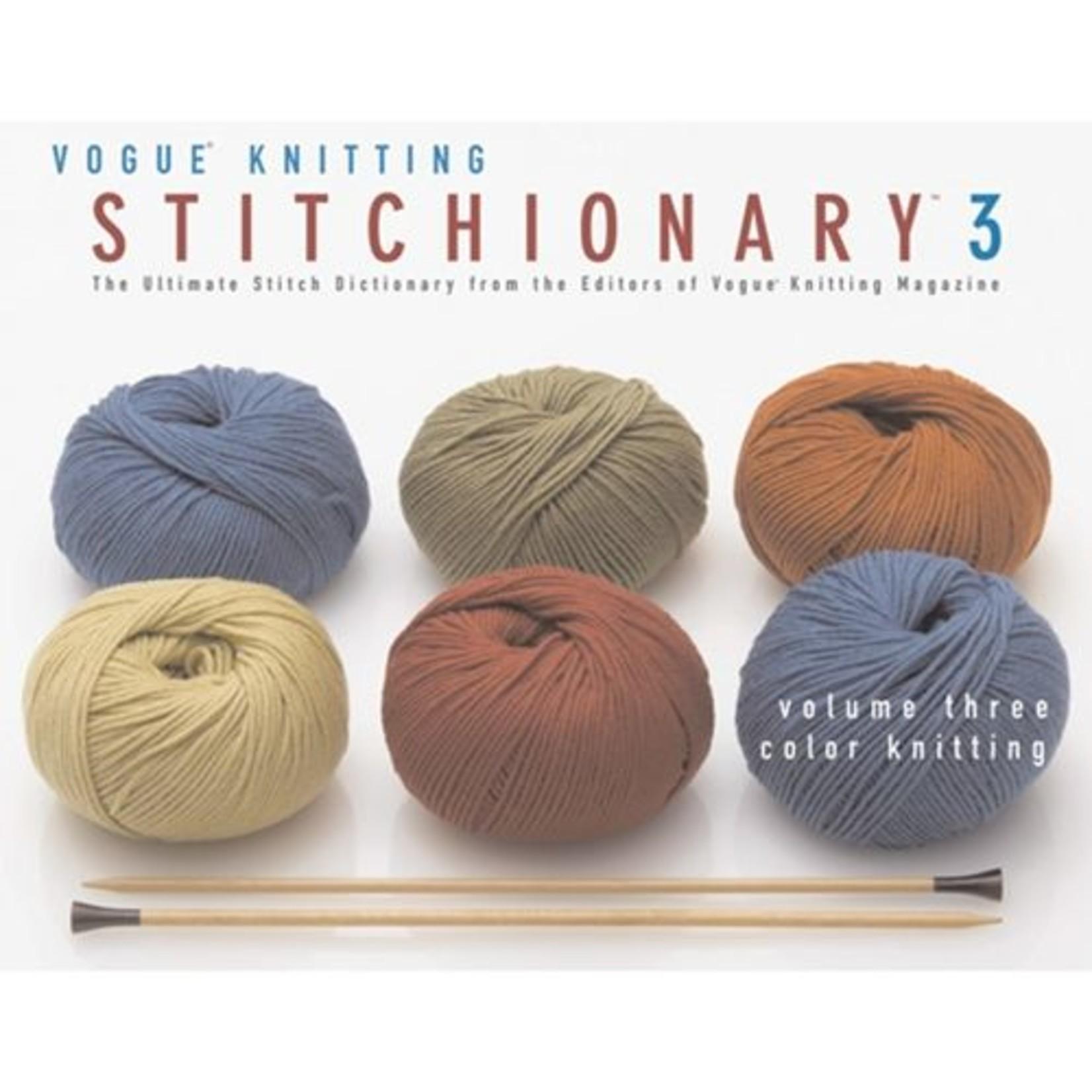 Vogue Knitting Stitchionary Volume 3