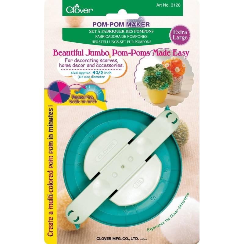 Clover Pom Pom Maker: Extra Large